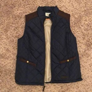 Blue and Brown Vest
